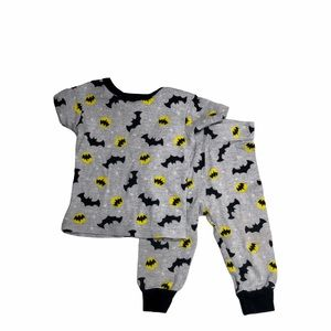 3/$10 Batman grey infant pajama set